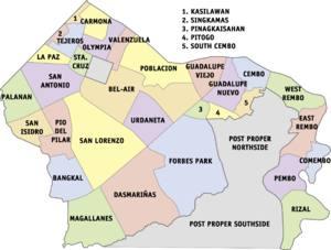 Makati Barangays