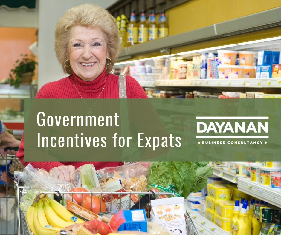 Government Incentives for Expats