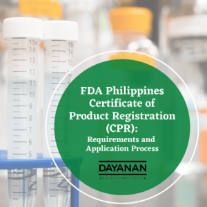 Certificate of Product Registration FDA Phils