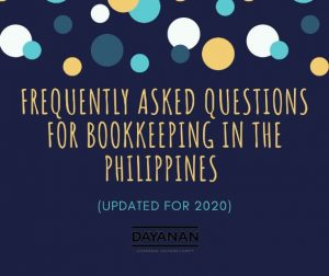 Frequently Asked Questions for Bookkeeping in the Philippines