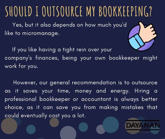 Should I outsource my bookkeeping?