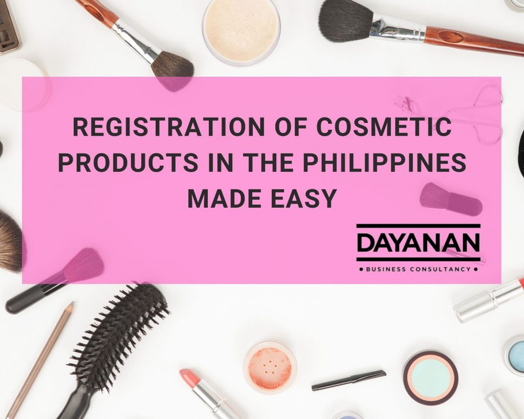 registration of cosmetic products in the philippines